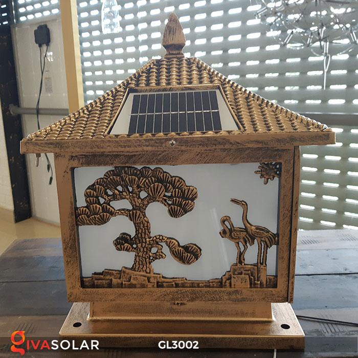 Đèn cổng sử dụng năng lượng mặt trời GL3002 8