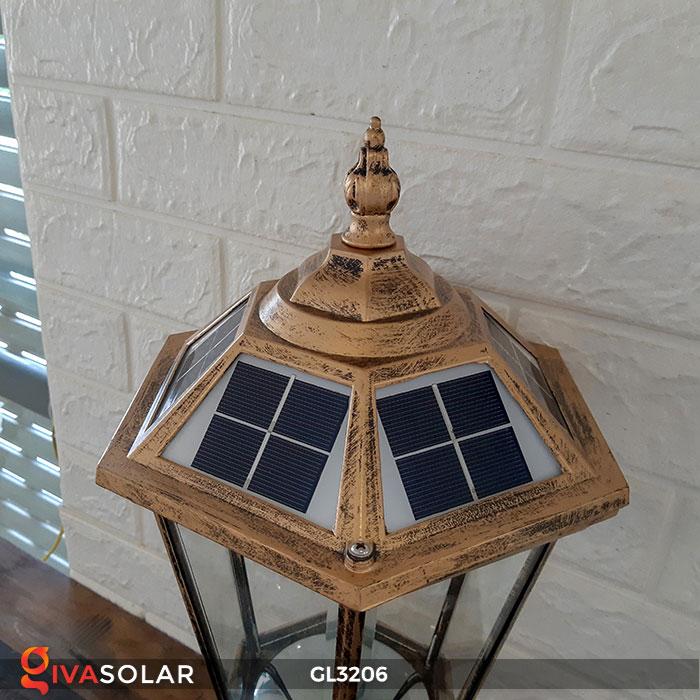 Đèn cổng năng lượng mặt trời GL3206 12