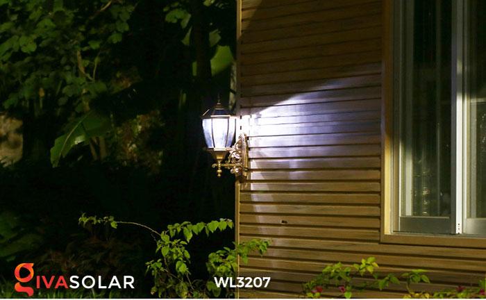 Đèn gắn lên tường năng lượng mặt trời WL3207 1