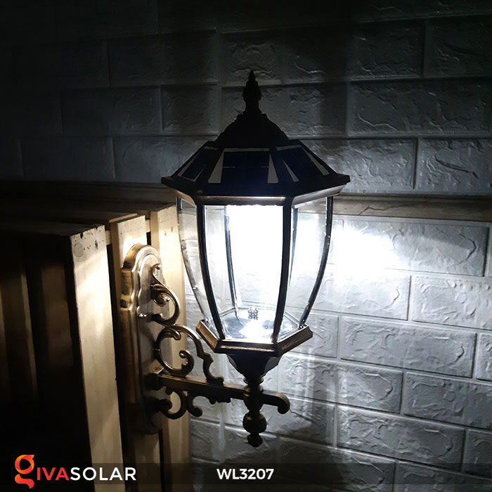 Đèn gắn lên tường năng lượng mặt trời WL3207 10