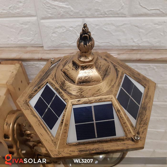 Đèn gắn lên tường năng lượng mặt trời WL3207 12