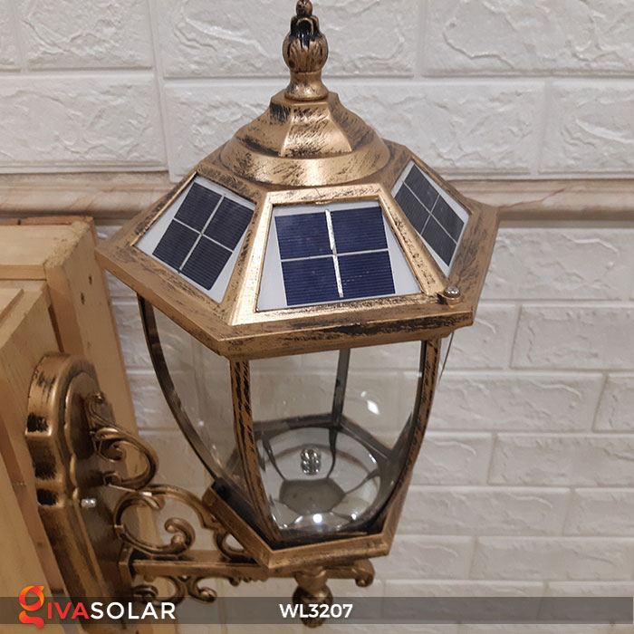 Đèn gắn lên tường năng lượng mặt trời WL3207 6