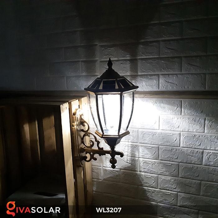 Đèn gắn lên tường năng lượng mặt trời WL3207 7