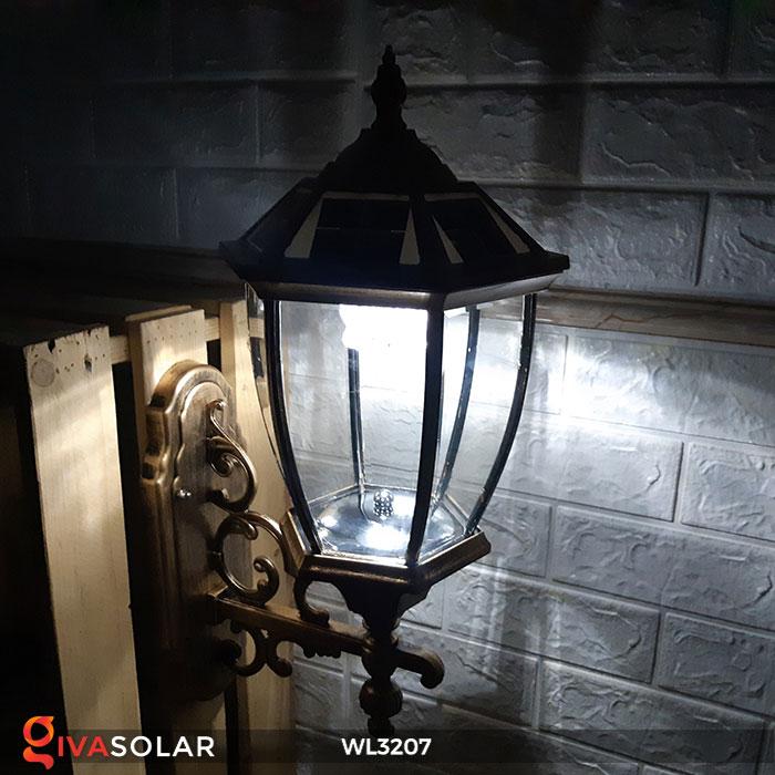 Đèn gắn lên tường năng lượng mặt trời WL3207 8