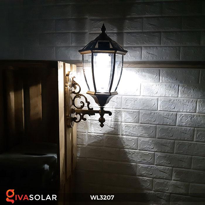 Đèn gắn lên tường năng lượng mặt trời WL3207 9