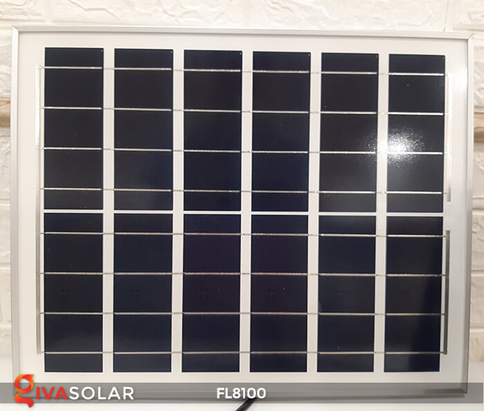 Đèn pha LED COB năng lượng mặt trời FL8100 10