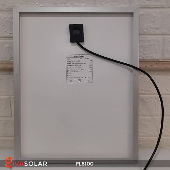 Đèn pha LED COB năng lượng mặt trời FL8100 11