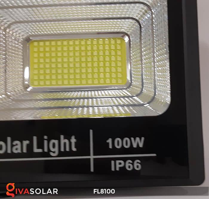 Đèn pha LED COB năng lượng mặt trời FL8100 14