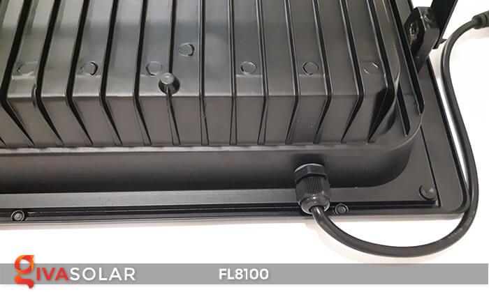 Đèn pha LED COB năng lượng mặt trời FL8100 18