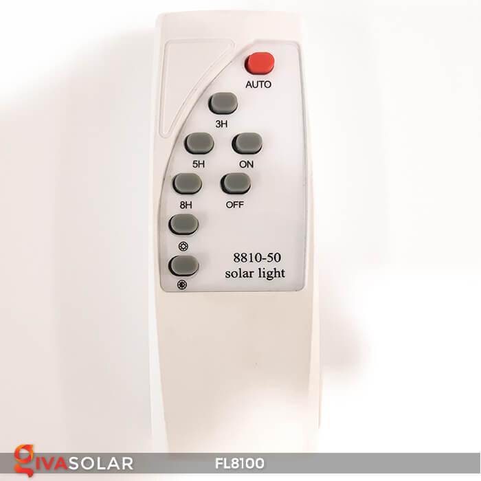 Đèn pha LED COB năng lượng mặt trời FL8100 19