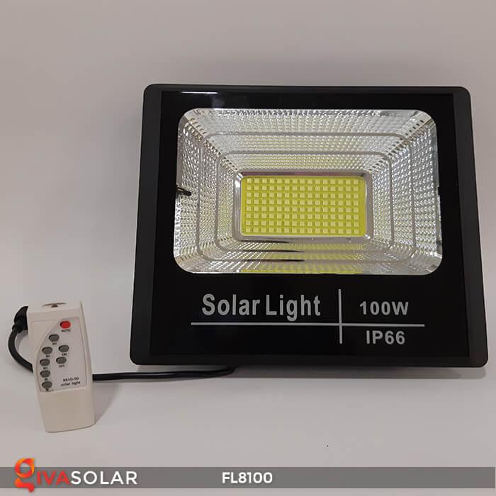 Đèn pha LED COB năng lượng mặt trời FL8100 4