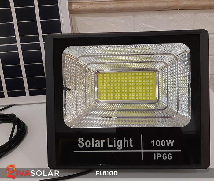 Đèn pha LED COB năng lượng mặt trời FL8100 6
