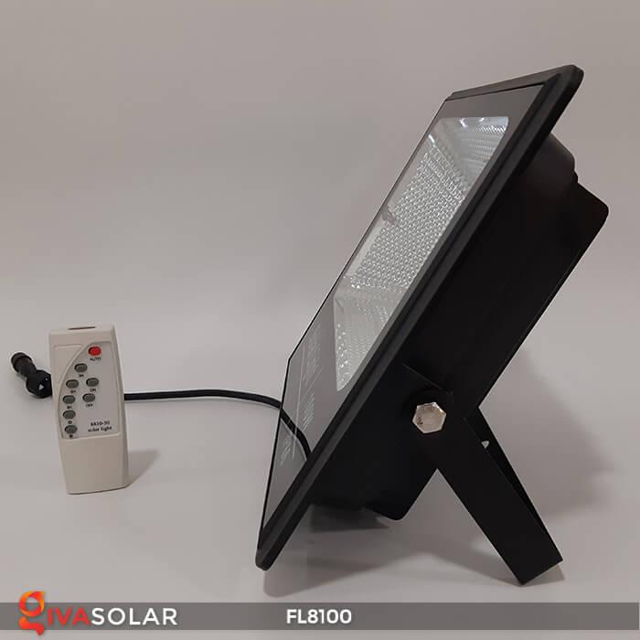 Đèn pha LED COB năng lượng mặt trời FL8100 8