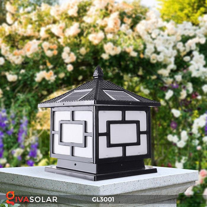 Đèn trụ cổng năng lượng mặt trời GL3001 1