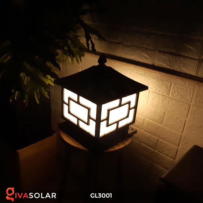 Đèn trụ cổng năng lượng mặt trời GL3001 12