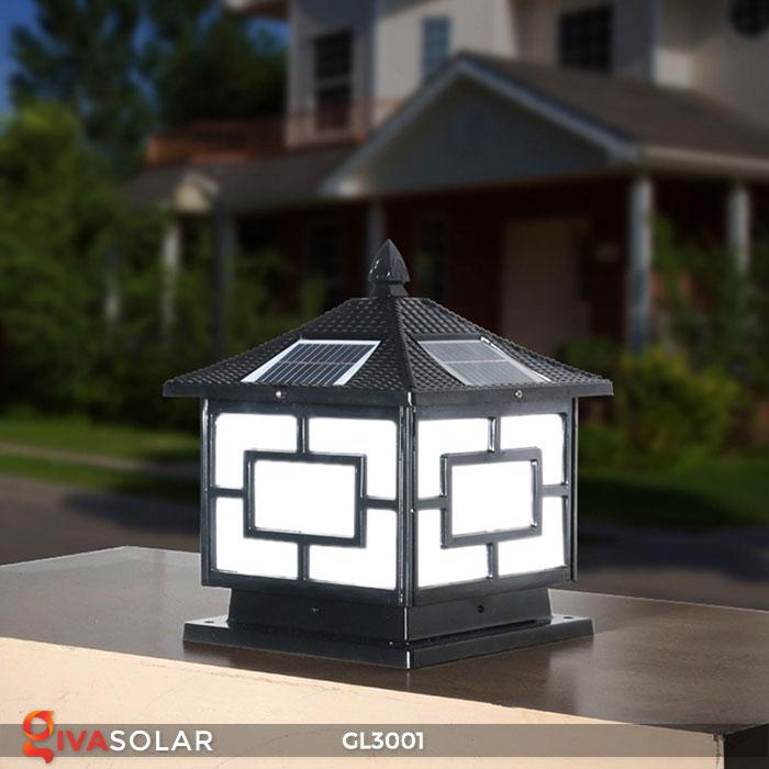 Đèn trụ cổng năng lượng mặt trời GL3001 2
