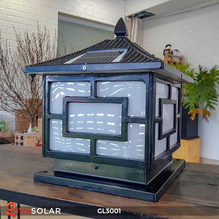 Đèn trụ cổng năng lượng mặt trời GL3001 4