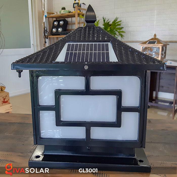 Đèn trụ cổng năng lượng mặt trời GL3001 5