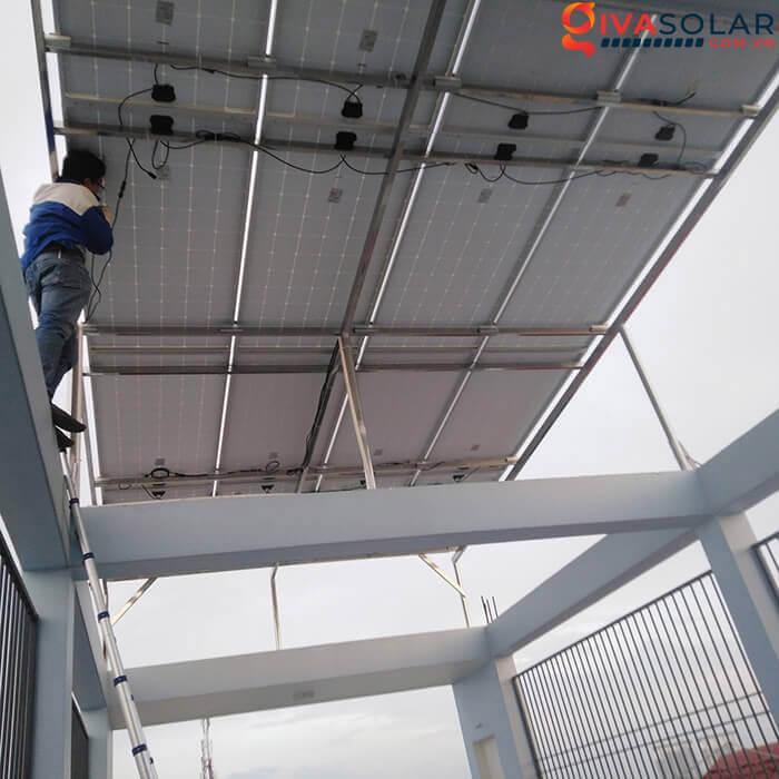 Hệ thống điện mặt trời hoà lưới 5kW bình chánh 3