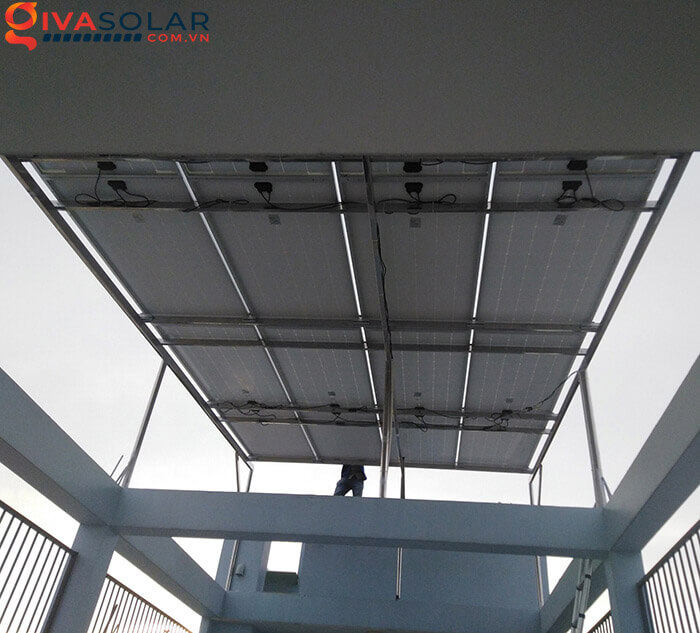 Hệ thống điện mặt trời hoà lưới 5kW bình chánh 5