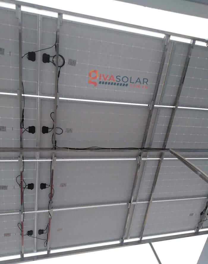 Hệ thống điện mặt trời hoà lưới 5kW bình chánh 4