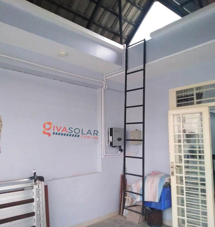 Hệ thống điện mặt trời hoà lưới 5kW bình chánh 7