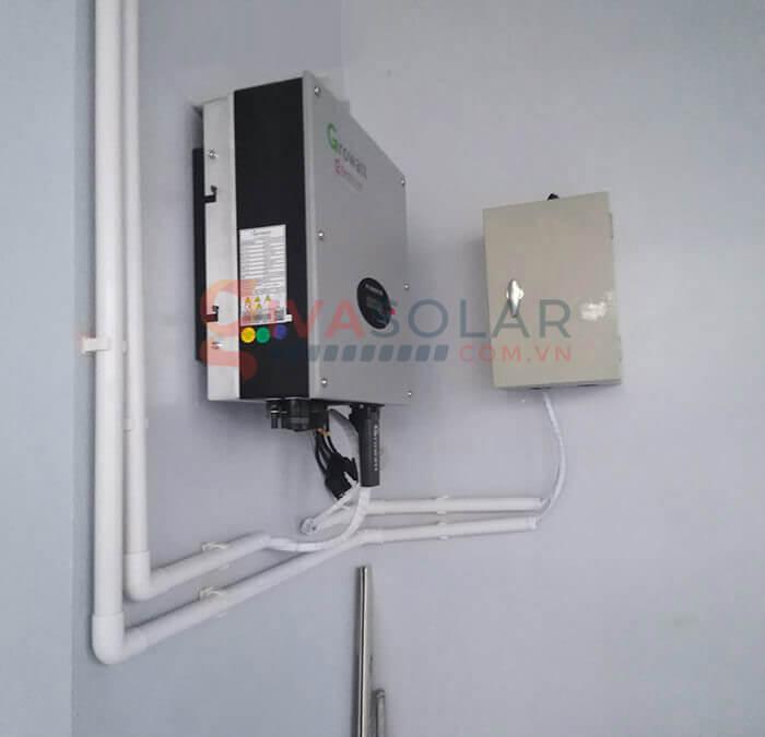 Hệ thống điện mặt trời hoà lưới 5kW bình chánh 8