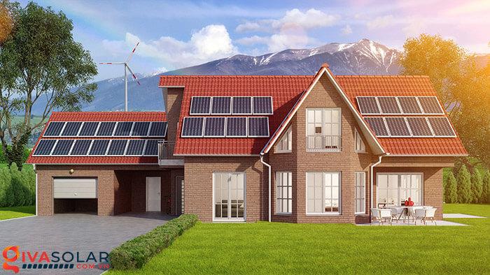 Hệ thống điện mặt trời hoà lưới 2