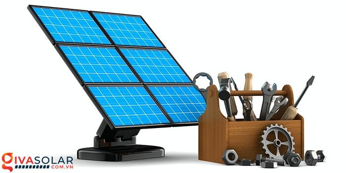 hệ thống điện mặt trời độc lập 3
