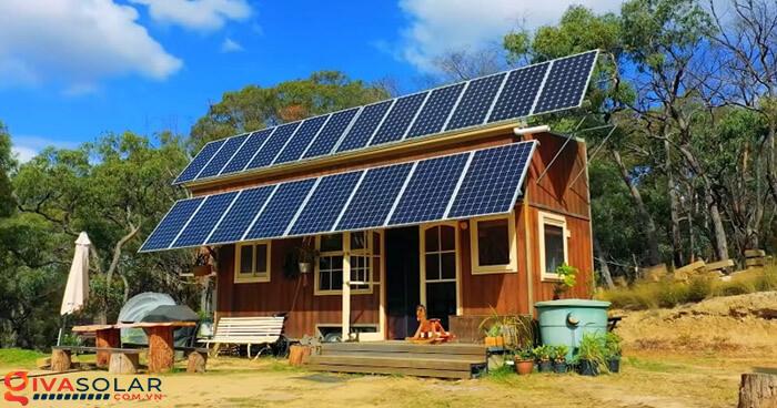 hệ thống điện mặt trời độc lập 1