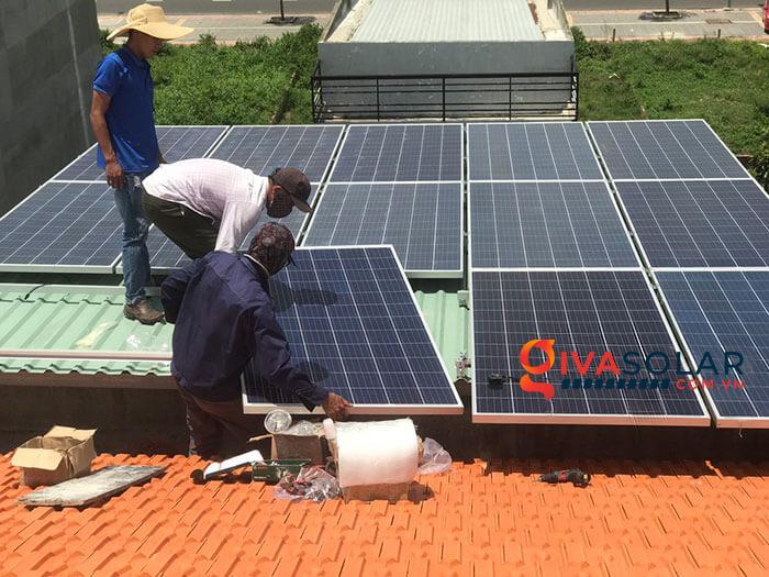 lắp đặt hệ thống điện mặt trời hoà lưới 5kW tại Vũng Tàu 1