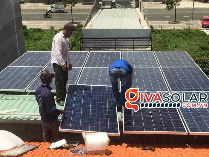 lắp đặt hệ thống điện mặt trời hoà lưới 5kW tại Vũng Tàu 2
