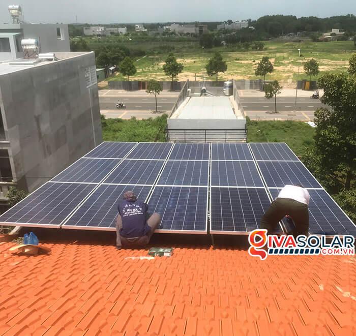 lắp đặt hệ thống điện mặt trời hoà lưới 5kW tại Vũng Tàu 3