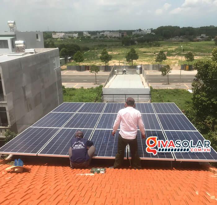 lắp đặt hệ thống điện mặt trời hoà lưới 5kW tại Vũng Tàu 4