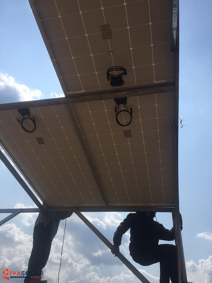 Lắp đặt xong hệ thống điện mặt trời 5kW 3