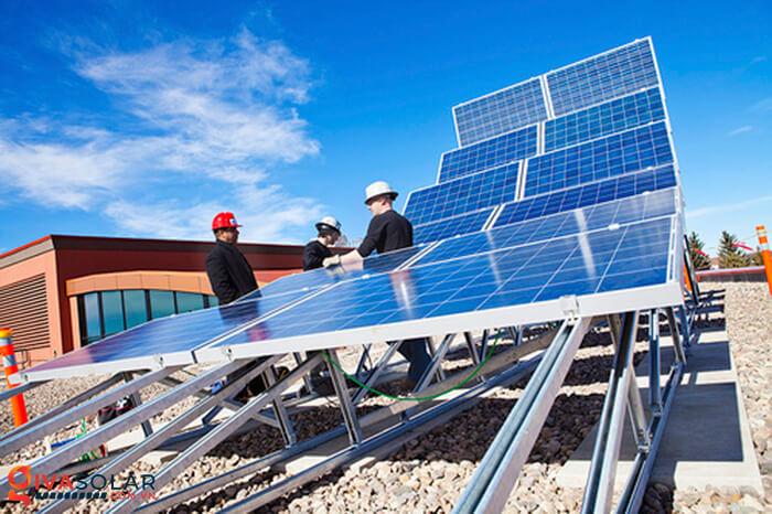 Hướng và góc nghiêng tối ưu cho các tấm pin mặt trời 1
