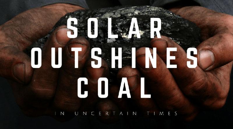 Năng lượng mặt trời sẽ thay thế năng lượng hoá thạch trong lương lai