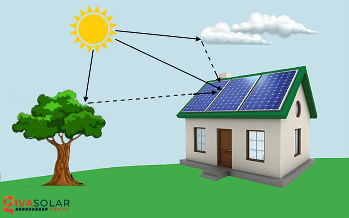 Liệu tấm pin mặt trời có tạo ra điện trong bóng râm 1