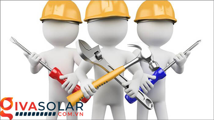 bảo trì hệ thống năng lượng mặt trời 2