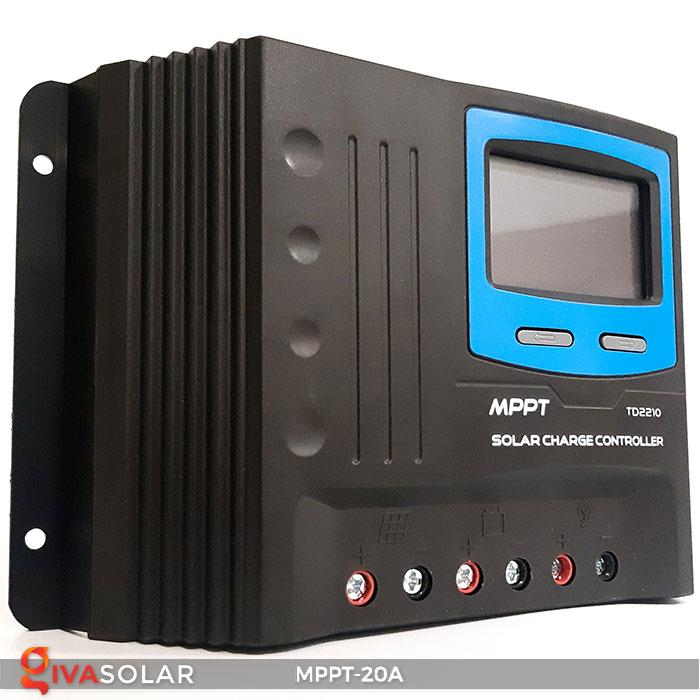 Bộ điền khiển sạc năng lượng mặt trời MPPT 20A 3