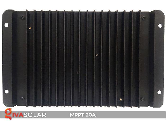 Bộ điền khiển sạc năng lượng mặt trời MPPT 20A 6