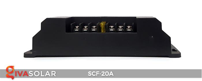 Bộ điều khiển sạc năng lượng mặt trời SCF-20A 4