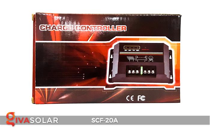 Bộ điều khiển sạc năng lượng mặt trời SCF-20A 6