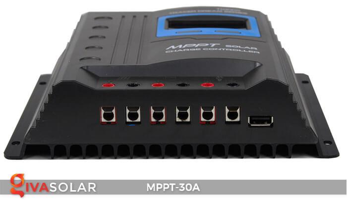 Bộ điều khiển sạc điện mặt trời MPPT-30A 4