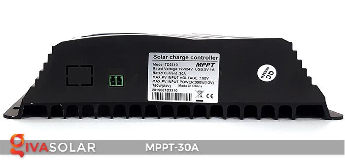 Bộ điều khiển sạc điện mặt trời MPPT-30A 5