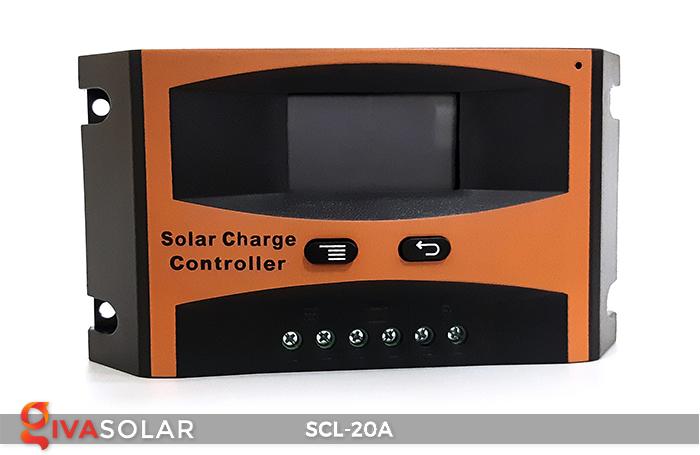 Bộ điều khiển sạc pin mặt trời SCL-20A 1