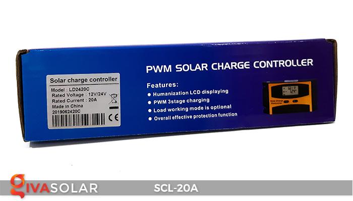 Bộ điều khiển sạc pin mặt trời SCL-20A 10