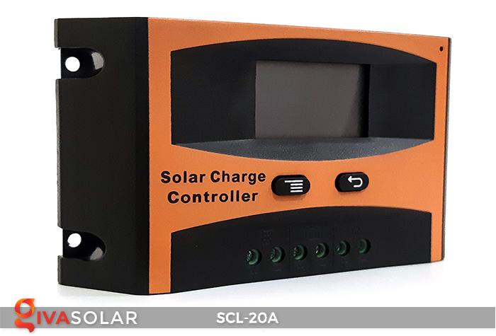 Bộ điều khiển sạc pin mặt trời SCL-20A 2