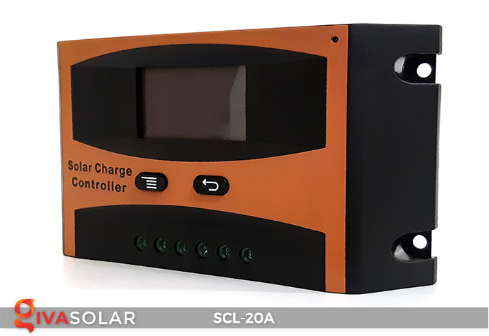 Bộ điều khiển sạc pin mặt trời SCL-20A 3