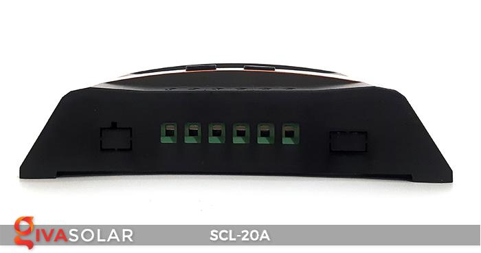 Bộ điều khiển sạc pin mặt trời SCL-20A 4